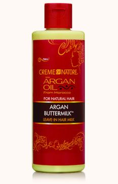 Argan Oil For Natural Hair   Moisturize   Creme of Nature