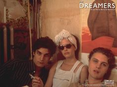 "human-cliches: "" Louis Garrel,Eva Green and Michael Pitt -'The Dreamers' directed by Bernardo Bertolucci… "" The Dreamers, Dreamers Movie, Michael Pitt, Eva Green, Movies Showing, Movies And Tv Shows, Kill Your Darlings, Bernardo Bertolucci, Louis Garrel"