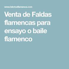 Venta de Faldas flamencas para ensayo o baile flamenco Color Magenta, Flamingo, Knitted Skirt, Essayist