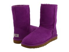 deep purple + Uggs = I must have!