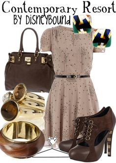 Contemporary Resort by DisneyBound