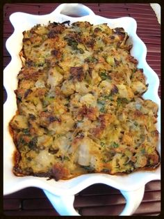 This Induction-friendly stuffing is wonderful with the holiday turkey, with baked chicken and stuffed pork chops. As cornbread is not allowed during the early phase of a low-carb diet, even on mai...
