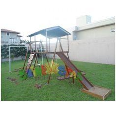 Playground de Madeira 11 Brinquedos