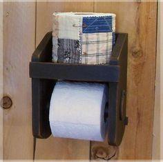 Primitive+Toilet+Paper+Holder+for+the+Bathroom