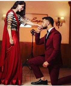 Image may contain: 2 people, people standing and shoes Indian Engagement Photos, Indian Wedding Photos, Wedding Couple Photos, Wedding Couples, Wedding Outfits, Wedding Bride, Wedding Reception, Indian Wedding Couple Photography, Couple Photography Poses