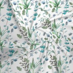 Sewing Blouses, Eucalyptus Leaves, Fabric Houses, Ornamental Grasses, Slow Fashion, Shades Of Green, Green Leaves, Ivy, Composition