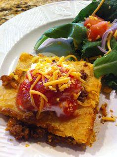 The Cookin' Chicks: Cornbread Taco Bake