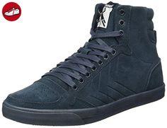 SL. Stadil Herringbone High, Sneakers Hautes Femme, Gris (Frost Grey), 40 EUHummel