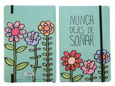 LIBRETA NUNCA DEJES DE*14X21