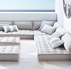 Tufted French Floor Cushions - Great option but still too expensive! Tufted French Floor Cushions The Effective Pictures We Offer - Sofa Futon, Patio Loveseat, Sleeper Sofas, Floor Couch, Floor Mattress, Floor Cushion Couch, Sitting Cushion, Daybed Mattress, Modul Sofa