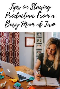 How To Stay Productive With Erin Condren: Tips From A Busy Mom