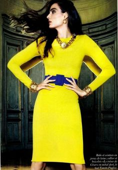 gold and yellow and blue. But can I wear yellow?