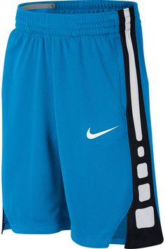 online retailer b7611 f0289 Nike Boys  Dry Elite Stripe Basketball Shorts, Size  Medium, Blue Buy  Basketball