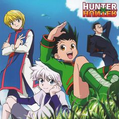 Gon Freecs with Friends - Tap to see more Hunter x Hunter wallpaper! @mobile9