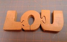 Sugarcreek Ohio, Machinist Tools, Wooden Baby Toys, Vintage Wood, Puzzle, Office Supplies, Letters, 3d, Dolls