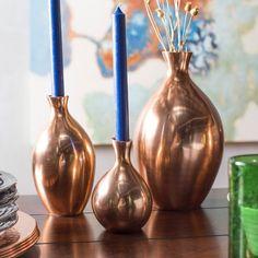 Global Views Spry Vase - Copper - 9.92257