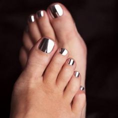 Loooove metallic nail polish