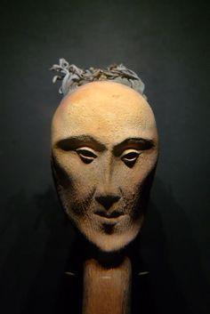 Head by František Skála Sculptures, Creatures, Statue, Tattoos, Face, Artist, Theater, Tatuajes, Tattoo
