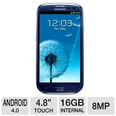 Samsung Galaxy S III I9300 Unlocked GSM Cell Phone $699.99 Tigerdirect Cell Phone Deals, Electronic Deals, Best Computer, Samsung Galaxy S, Android 4, Galaxies