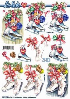 Nieuw bij Knutselparade: 4435 Le Suh knipvel kerst schaatsen 8215734 https://knutselparade.nl/nl/kerstmis/1477-4435-le-suh-knipvel-kerst-schaatsen-8215734.html   Knipvellen, Kerstmis, Sport -  Le Suh