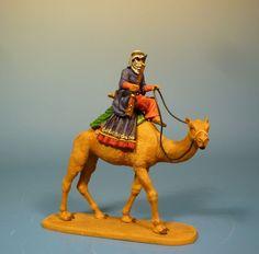 Orig. Lineol (Elastolin) Orient – Araber auf Dromedar – 7cm Serie