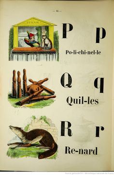 Les premiers pas de l'enfance . Nouvel alphabet facile et amusant orné de gravures coloriées contenant de nombreux exercices d'épellation suivis de courtes phrases et d'historiettes   Gallica