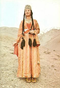 A woman from Shatakh.  from The Costumes of Armenian Women by Gregory Lima(Tehran, 1974).