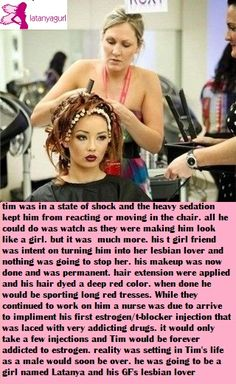 Tg Captions Hair And Makeup