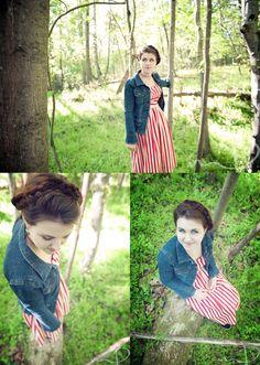Outdoor Senior Portraits - Molly Dockery Photography