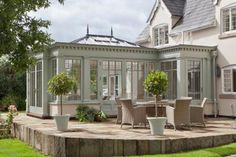 Cheshire country home is the perfect setting for an orangery