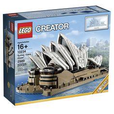 LEGO Sydney Opera House 10234 Unveiled