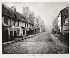 Main St. Gorbals, Looking South   ANNAN, THOMAS, b.1829-1887  The Old Closes and Streets of Glasgow, 1868