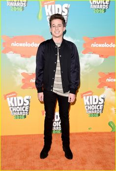 Charlie Puth at the Kids Choice Awards 2016