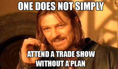 Many things can go wrong when exhibiting at a trade show. One of the biggest mistakes you can make is walking into a trade show without putting much thought into what you plan on accomplishing while at the show. #tradeshow #expo #plan #mistakes #exhibit #tips