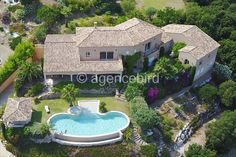 Beautiful Luxury Villa For Sale in GRIMAUD on French Riviera. Very nice view over the sea. Reference no. Beautiful Villas, French Riviera, Luxury Villa, Contemporary Architecture, Jacuzzi, Nice View, Townhouse, Property For Sale, Terrace