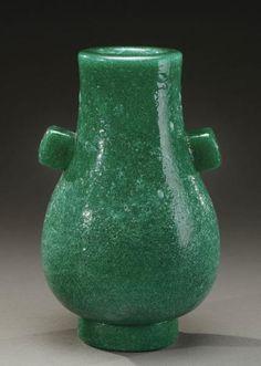 "CARLO SCARPA (1906-1978) pour VENINI - Rare vase dit ""a Bollicine"", 1932"