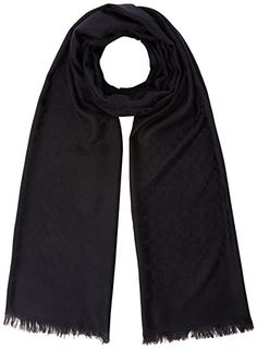 Coach Women's Scarf Blue (Navy). UK scarf. Women scarf. Women fashion. Women outfits. Women clothing. UK fashion. It's an Amazon affiliate link.