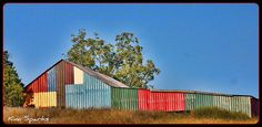 Barn of Many Colors by emtbkim