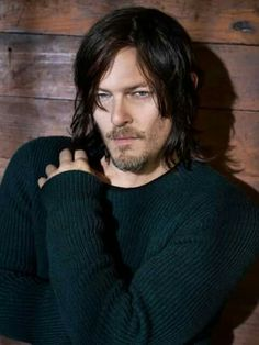 Norman Reedus photographed by Mark Seliger for Details Magazine, October 2015.