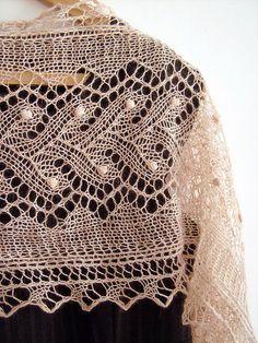 Ravelry: Ireth Lace Scarf pattern by Madeline Wardrobe