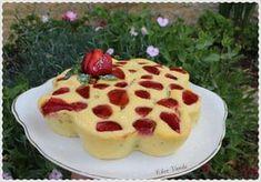 Moelleux rhubarbe fraises (sans farine) #recetteww #omnicuiseur