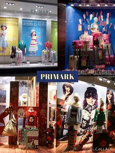 Window displays of PRIMARK