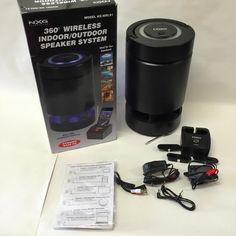 NXG Technology NX-WRLS1 Wireless Indoor/Outdoor Speaker System~PRE OWN~GUARANTEE #NXG