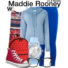 Inspired by Dove Cameron as Maddie Rooney on Liv & Maddie.