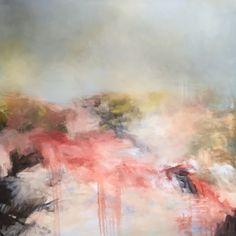 Restraint. Release. 60x60. Oil. Sharon Kingston paintings.
