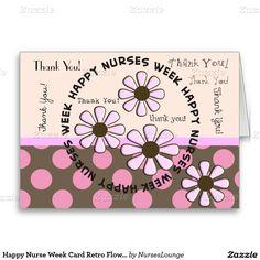 Happy nurse week card syringes nurses week happy nurses week and happy nurse week card retro flowers m4hsunfo