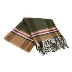 Scotch Label Throw Blanket | Wayfair