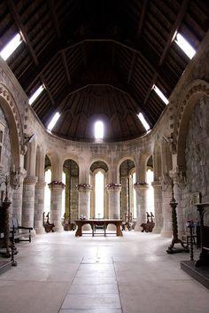 Inside St. Conan's Kirk, Loch Awe, Argyll & Bute, Scotland