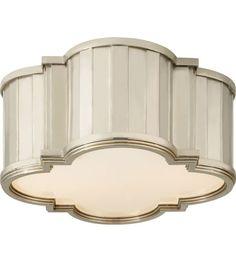 Visual Comfort TOB4130PN-WG Thomas OBrien Tilden 2 Light 11 inch Polished Nickel…