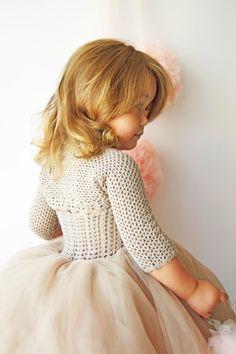 Girls Stretch Bolero. Crochet shrug for girls. Add matching shrug to your dress or tutu skirt.